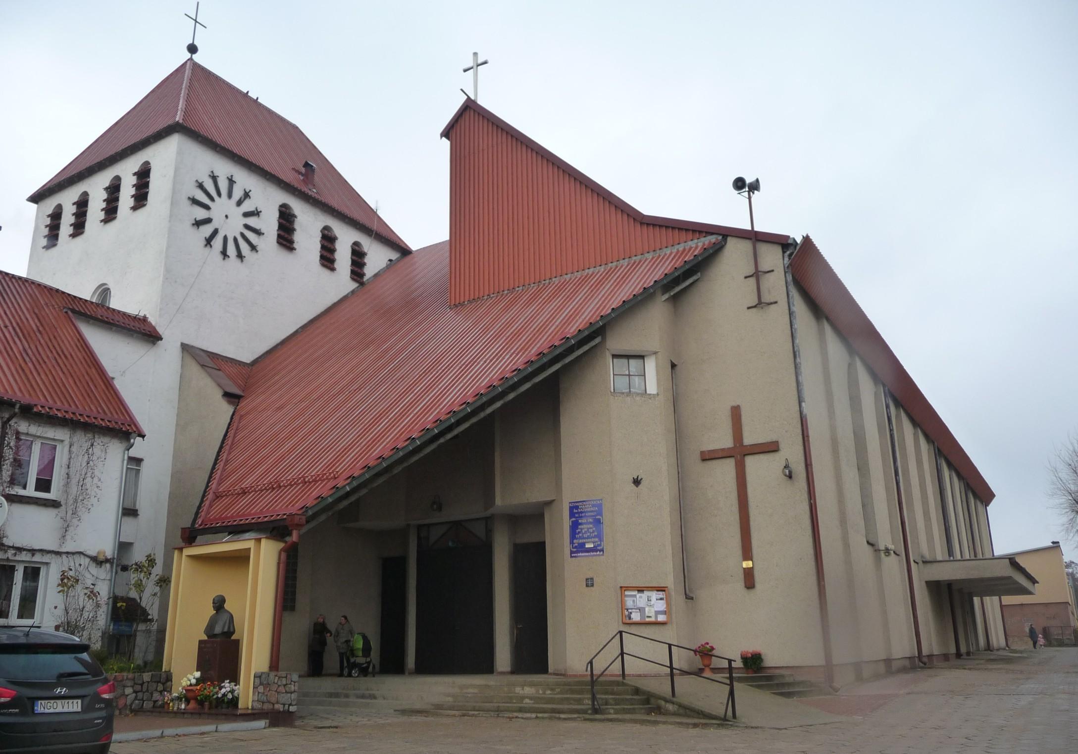 Parafia pw. św. Kazimierza Królewicza - Giżycko